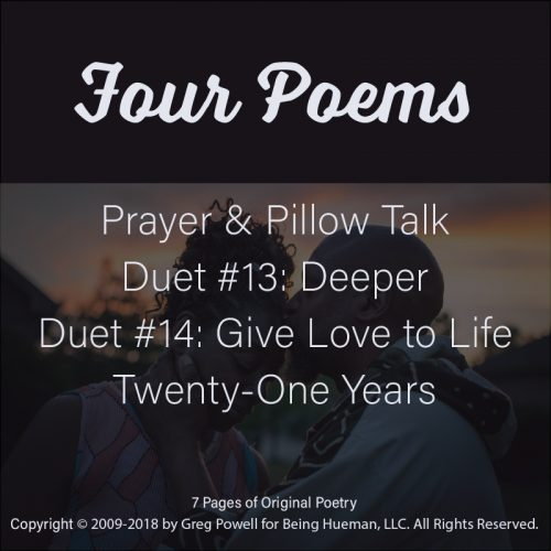 Love Lyrics: Four Poems written by Greg Powell