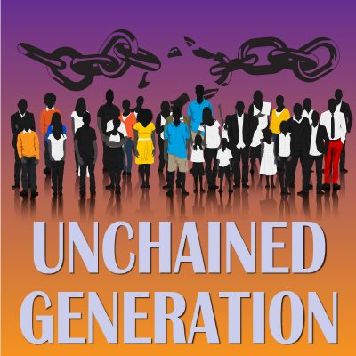Chapbook Unchained Generation by Greg Powell for Being Hueman, the Poetic Experience