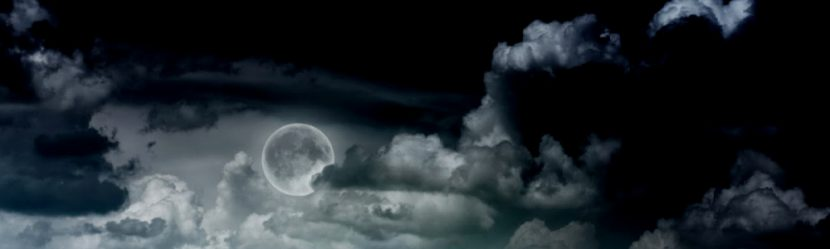 The Night Clouds Ate the Moon by Greg Powell