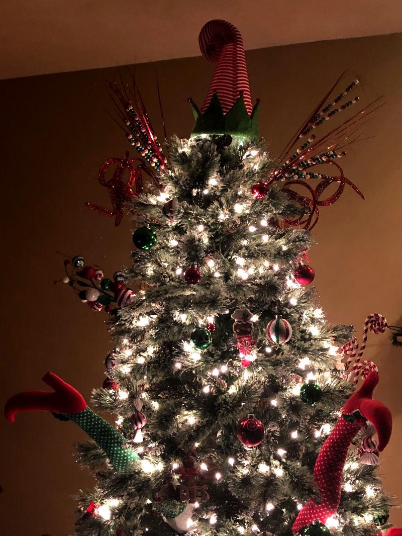 Being Hueman poem Hymn to an Elf Tree at Christmas