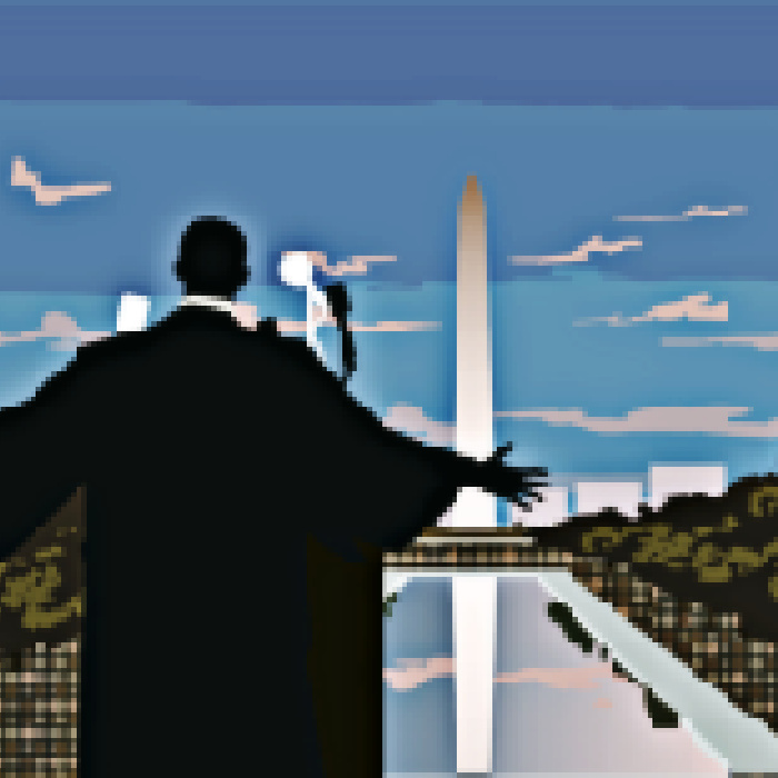 Fragment of a Dream for Martin Luther King by Greg Powell