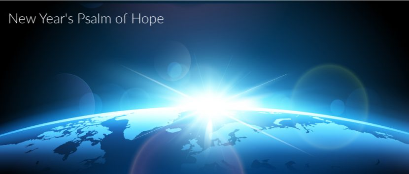 New Year's Psalm of Hope- Poetry by Greg Powell