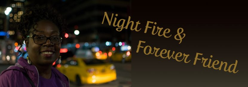 Greg Powell writes Night Fires Forever Friends, a tribute to Deborah